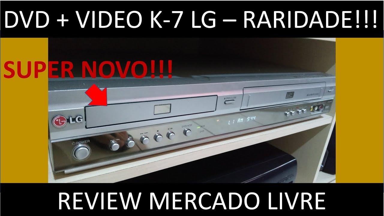 Reliquia!! DVD & VCR LG DC-884B (Review). - YouTube