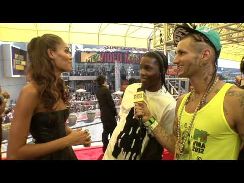 RiFF RaFF & A$AP Rocky & Joan Smalls at VMAs | Weird Vibes Ep12