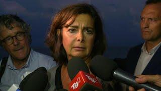 """Diciotti, Boldrini: """"Fate almeno scendere le donne. Stanno male"""""""