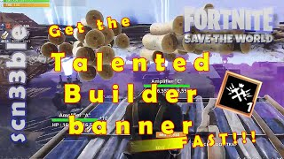 Complete building Challenge (500K structures) without losing materials | Fortnite STW | scn33ble