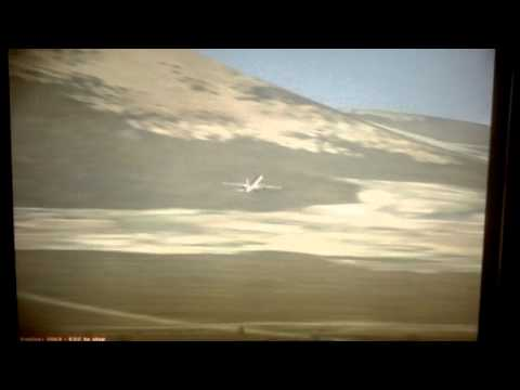 American Airlines 757 200 taking off from Retalhuleu Airport MGRT
