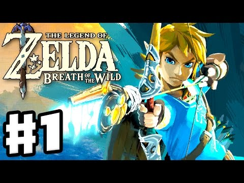 The Legend of Zelda: Breath of the Wild - Gameplay Part 1 - Link Awakens! (Nintendo Switch)