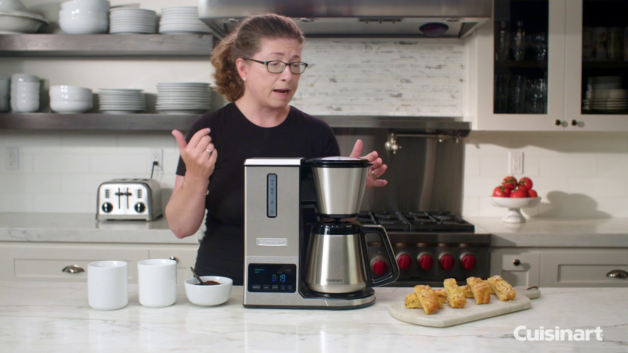 Pureprecision 8 Cup Pour Over Thermal Coffee Brewer Cpo 850 Youtube