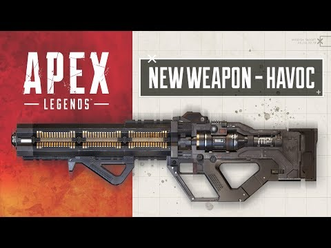 Apex Legends update releases Havoc Energy Rifle today