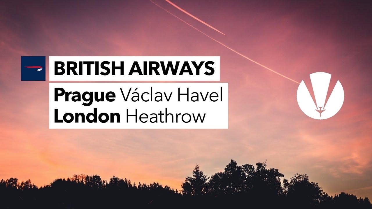 *VAPOUR TRAILS* + [STORM DORIS] | BRITISH AIRWAYS | Prague to London Heathrow | Flight Report