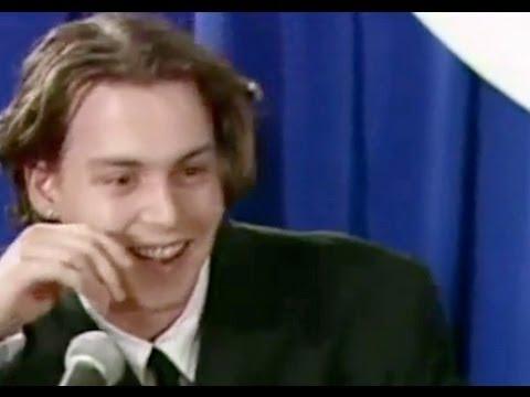 Johnny Depp & Winona Rider Interview (1990)
