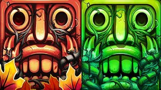Temple Run 2 Jungle Fall VS Lost Jungle Android iPad iOS Gameplay HD