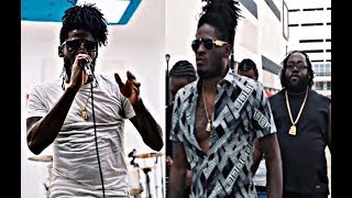 aidonia rehearsal after running masicka out the rehearsal room july 2017