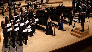 University of Maryland Chamber Singers - selection from Les noces