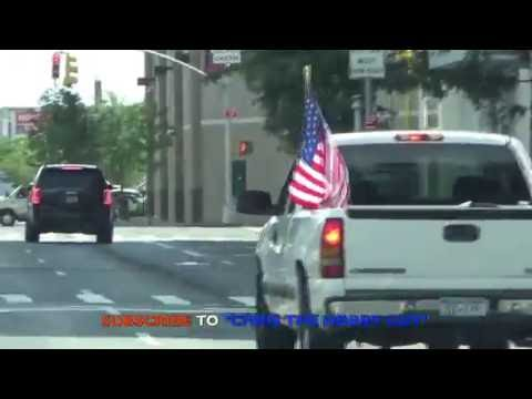 American Pride ....And This Man Shows It Proudly