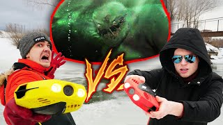 Битва подводных дронов Кто найдет больше жутких кадров под водой
