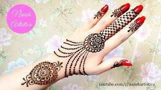 vuclip How to apply Eid Mehndi Design | Eid Henna Video | Eid 2019 - Naush Artistica