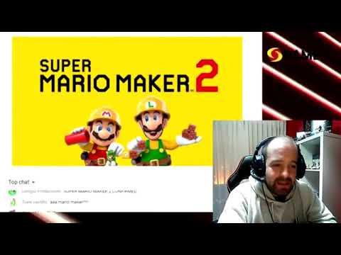 SUPER MARIO MAKER 2 REACTION! Nintendo Direct Reaction / REACCIÓN AL NINTENDO DIRECT