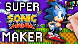 Sonic Mania in Super Mario Maker Mod - Super Mario Maker 2 DLC Speculation (lol)