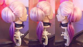Бабетта с хвостом | Авторские причёски | Лена Роговая | Hairstyles by REM | Copyright ©