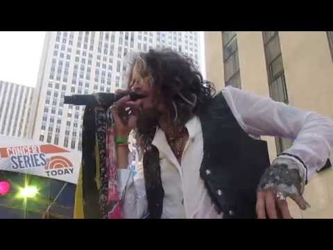 Steven Tyler - Crying - Live Performance - The Today Show - June 24, 2016
