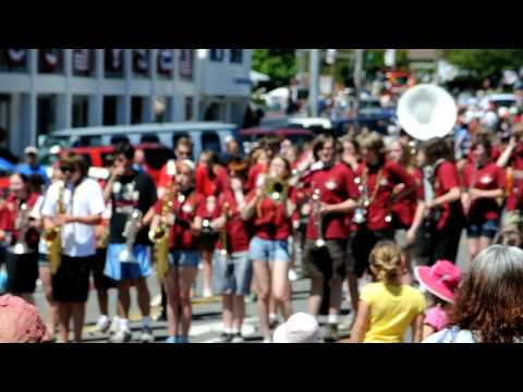 Kingston High School Buccaneers Marching Band - Kingston 4th of July 2011