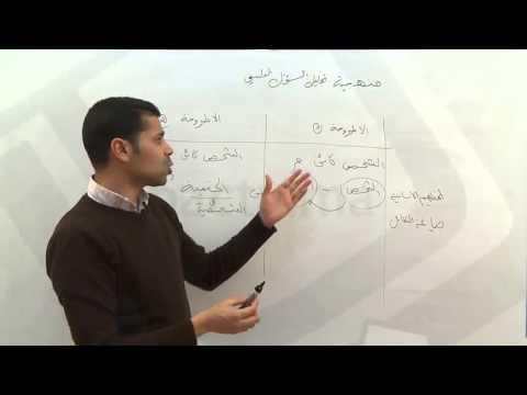 منهجية تحليل السؤال
