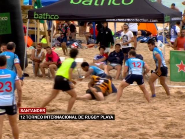 Torneo Internacional de Rugby Playa Santander