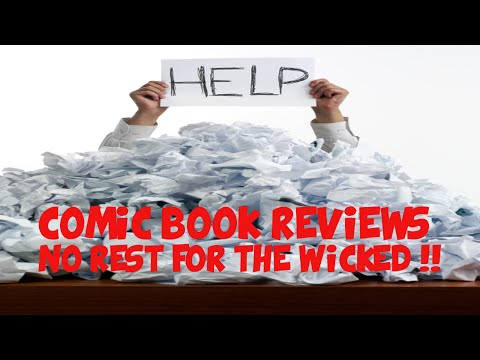 Comic Book Reviews - No Rest For The Wicked!!