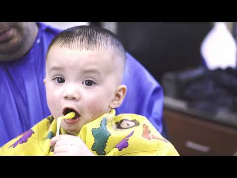 BABYS HAiRCUT TUTORIAL | SKiN FADE ON A TODDLER! | DIY | Barber Vidz