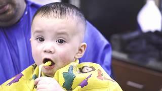 BABY HAIRCUT | SKiN FADE ON A TODDLER! | DIY | Barber Digital