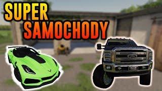 Super Samochody | Najlepsze Modyfikacje i Mapy | Farming Simulator 19