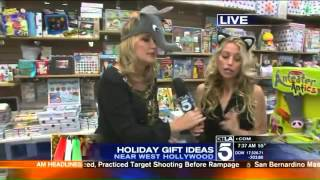 Holiday Gift Ideas 4 - KTLA - 2015