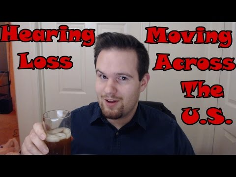 My Hearing Loss and Moving Across the US - Vlog 2