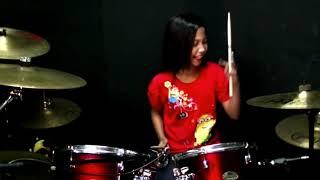 Download Don Omar - Danza Kudoro ft Lucenzo drum cover by Nur Amira Syahira