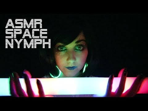 Floating with a Space Nymph ASMR [WARNING: FLASHING LIGHTS]