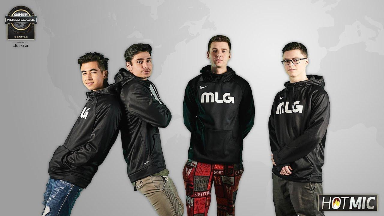 MLG Hot Mic with FaZe Clan | CWL Seattle 2018