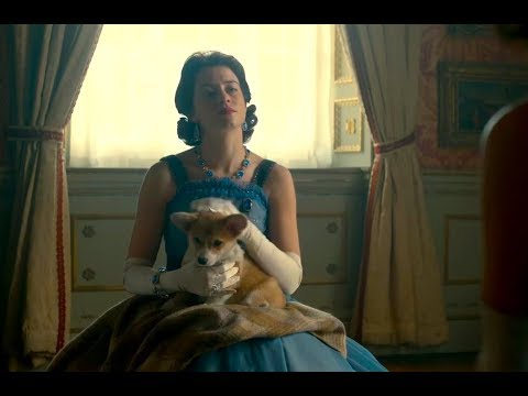The Queen With Corgis In The Crown Netflix (S02E08)