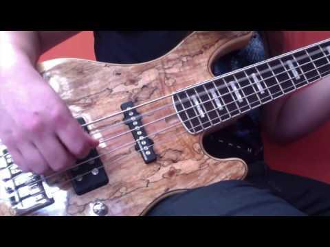 Luke Appleton - Iced Earth - Raven Wing - Bass Video (Official)