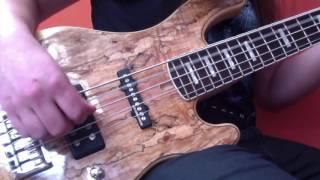 ICED EARTH - Raven Wing (Bass Guitar Play Through) | Luke Appleton