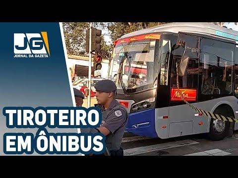 Tiroteio no ônibus, passageiros com medo