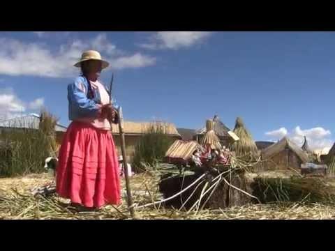 LOS UROS, Islas flotantes de los uros Documental