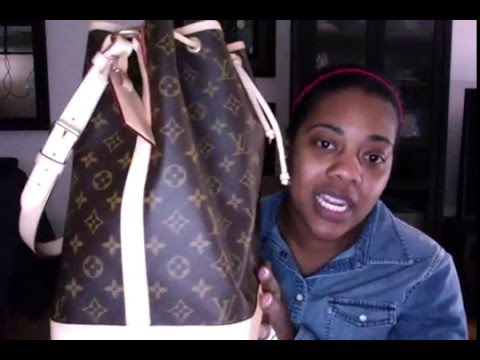 Louis Vuitton Noe' How big is this bag
