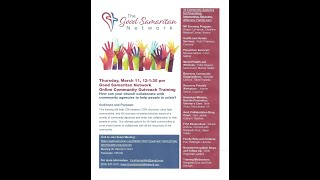 GSN Community Outreach Training - 3/11/2021