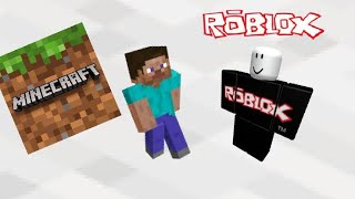 Minecraft vs Roblox in a little under 3 Minutes