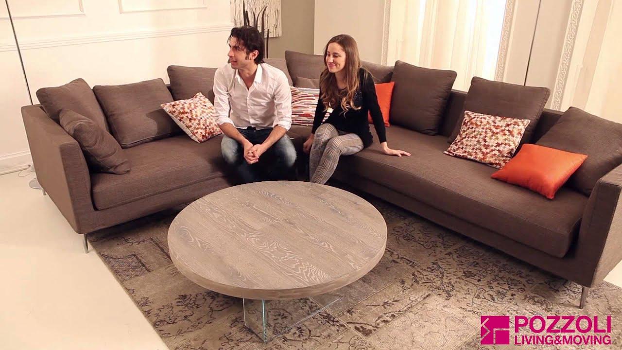 Tavolino Elevabile Bellagio Round Ozzio | Pozzoli Living&Moving ...