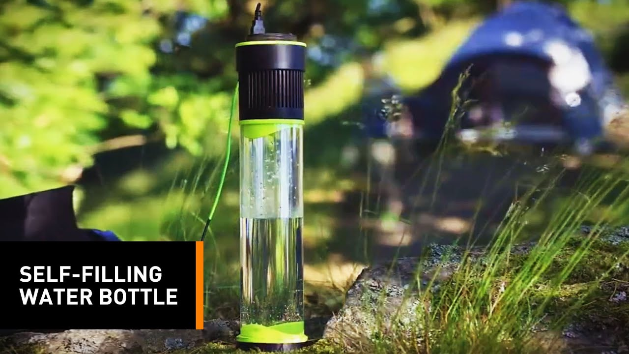 This Ingenious Water Bottle Is Designed To Convert The Air Into