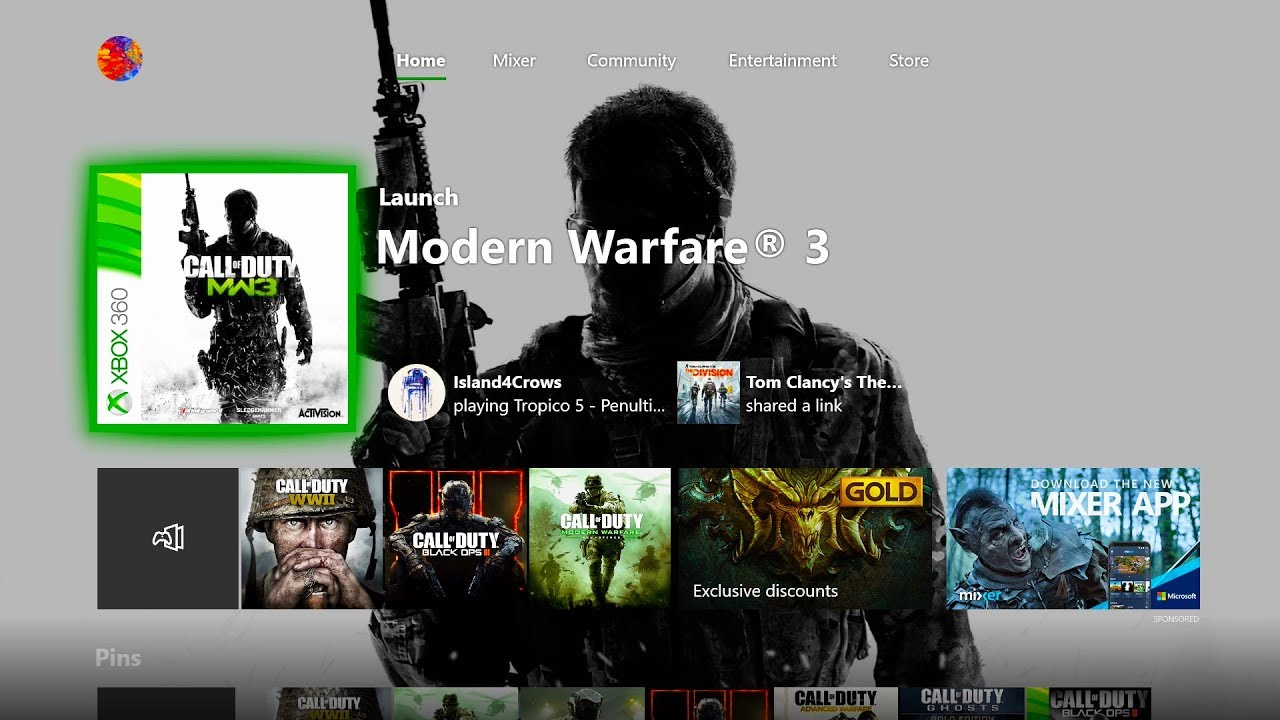 How To Install Modern Warfare 3 On Xbox One Youtube