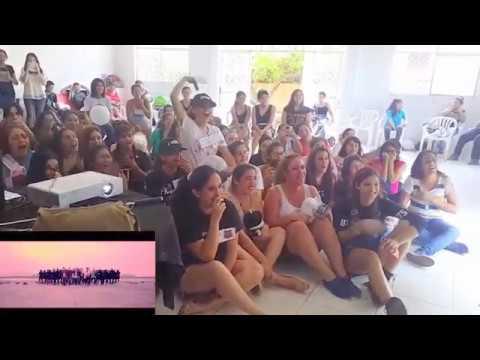 BTS 'Not Today' MV REACTION (FC BTS PARAGUAY)