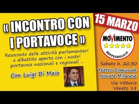 Incontro con i Portavoce #M5S a Novate Milanese