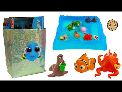 Baby Dory Bag Of Surprise Blind Bags from Disney Pixar Finding Dory + Shopkins