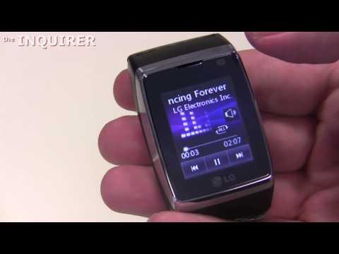 LG GD910 Watchphone walk-through