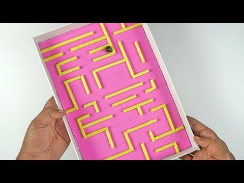 How to Make Marble Maze at Home | Clever Toy for Kids