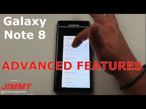 18 Advanced Features - Galaxy Note 8