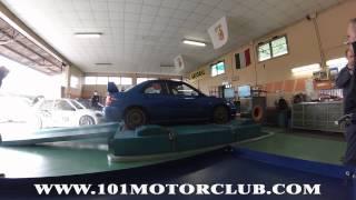 330HP  Subaru wrx STI Dyno Test - 101 Motor Club - Bortolon Preparazioni